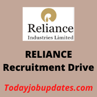 RELIANCE Recruitment Drive