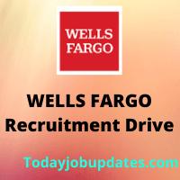 WELLSFARGO Recruitment Drive