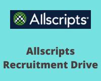 allscripts Recruitment Drive