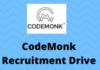 codemonk Recruitment Drive