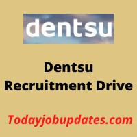 dentsu Recruitment Drive