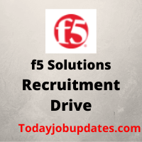 f5 Solutions Recruitment Drive
