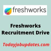 freshworks Recruitment Drive