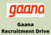 gaana Recruitment Drive