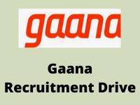 gaana Recruitment Drive