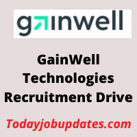 gainwell Recruitment Drive