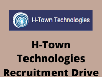 h-town technologies Recruitment Drive