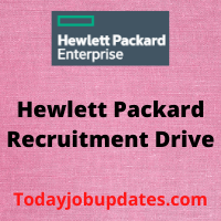 hewlett packard recruitment drive