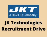 jk technologies Recruitment Drive