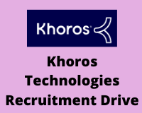 khoros Recruitment Drive