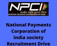 npci Recruitment Drive