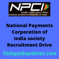 npci Recruitment Drive