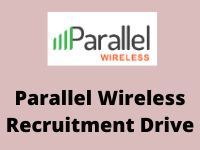 paallel wireless Recruitment Drive