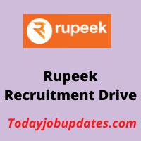 rupeek Recruitment Drive