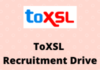 toxsl Recruitment Drive