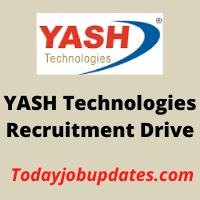 yash Recruitment Drive