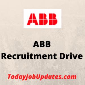 ABB Recruitment Drive