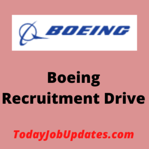 Boeing Recruitment Drive