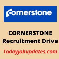 CORNERSTONE Recruitment Drive