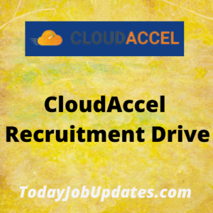 CloudAccel Recruitment Drive