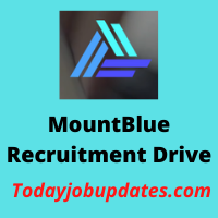 Mountblue Recruitment Drive