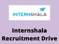 internshala Recruitment Drive