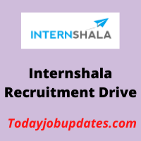 internshala Recruitment Drive