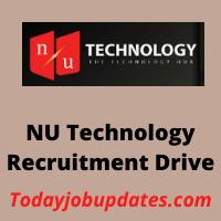 nu technology Recruitment Drive