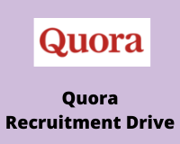 quora Recruitment Drive